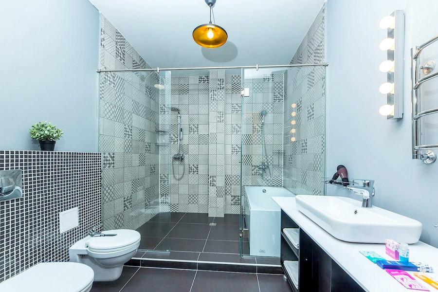 Туалетная комната номера Джуниор Сюит LV отеля Beton Brut