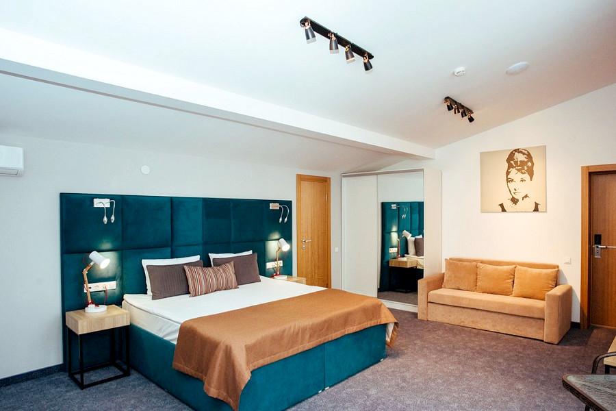 Triplе LV трехместный отеля Beton Brut
