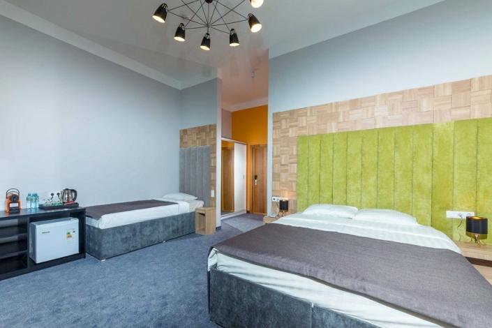 Triplе SV трехместный отеля Beton Brut