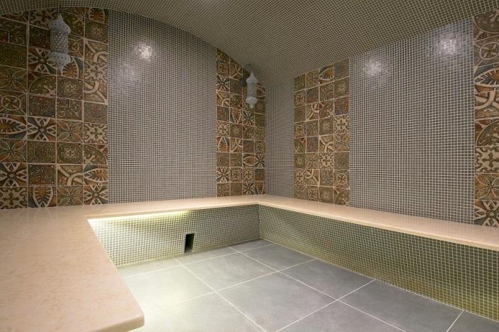 Турецкая баня в спа-комплексе отеля Beton Brut
