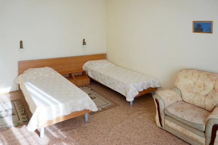 Двухместный номер 1 категории санатория БФО