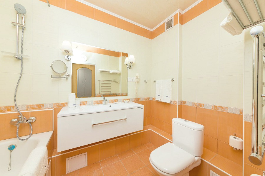 Туалетная комната номера Люкс санатория БФО