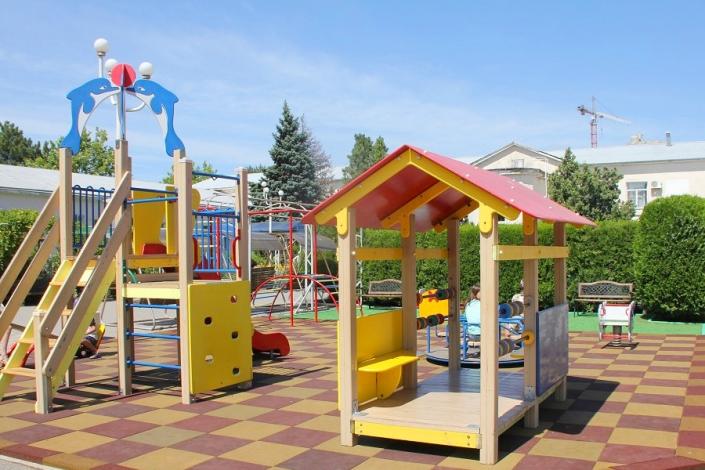 Детский игровой городок санатория БФО