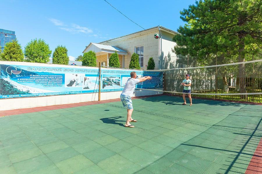 Спортивная площадка санатория БФО