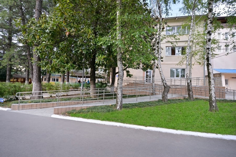 Корпус Черноморский санатория Бирюза, Лазаревское, Сочи