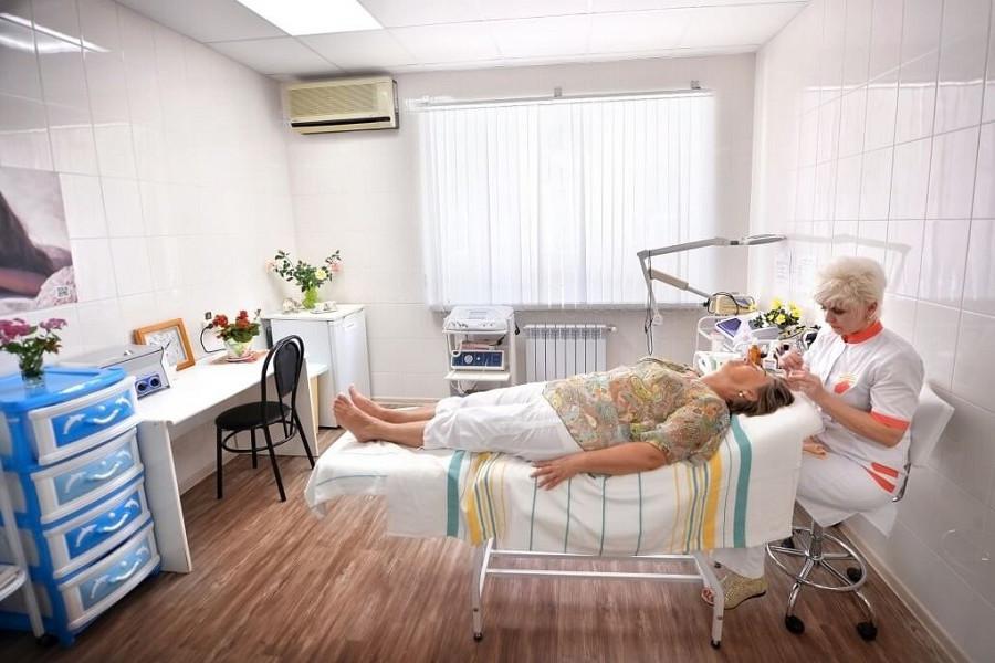 Косметологический кабинет санатория Бирюза