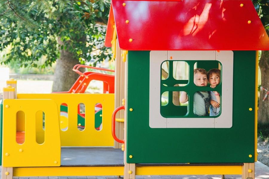Детская игровая площадка санатория Бирюза