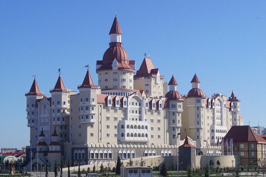 Отель Богатырь, Сочи, Имеретинский курорт