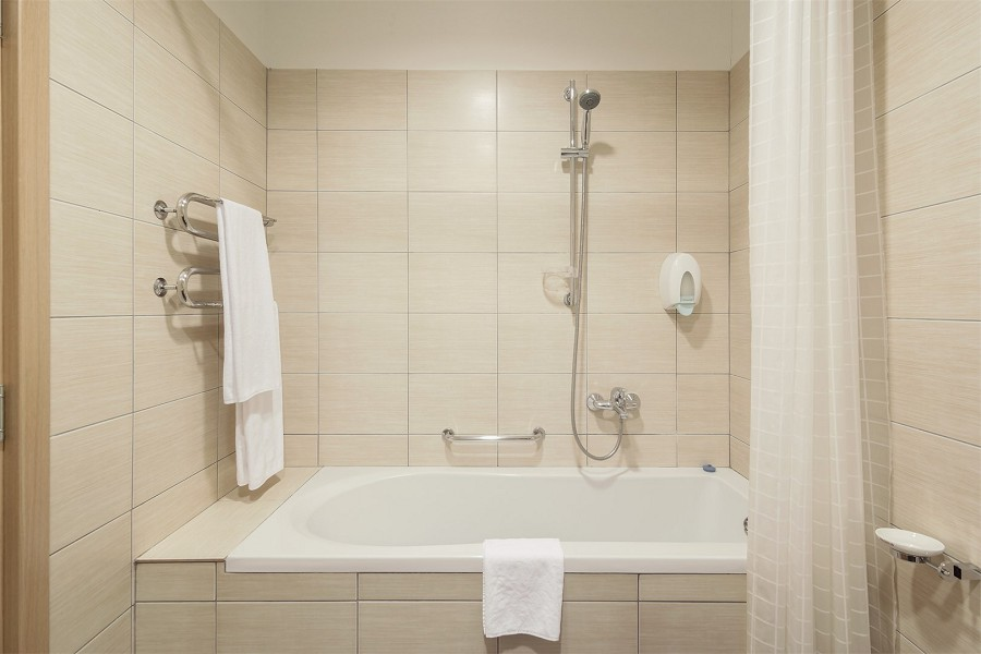 Туалетная комната четырехкомнатного апартамента апарт-теля Бревис