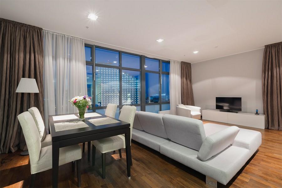 Апартаменты четырехместные двухуровневые апарт-теля Бревис