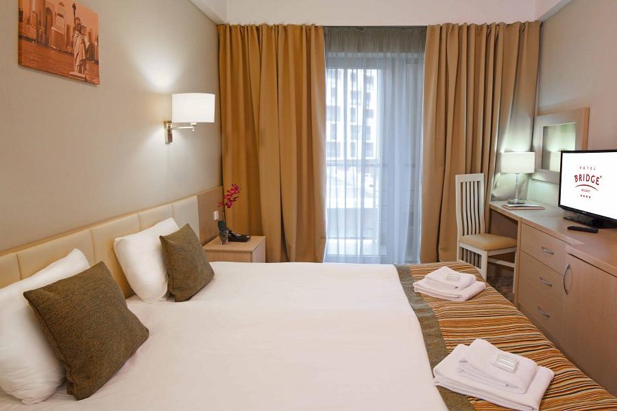 Стандартный двухместный номер отеля Bridge Family, Сочи, Имеретинский курорт
