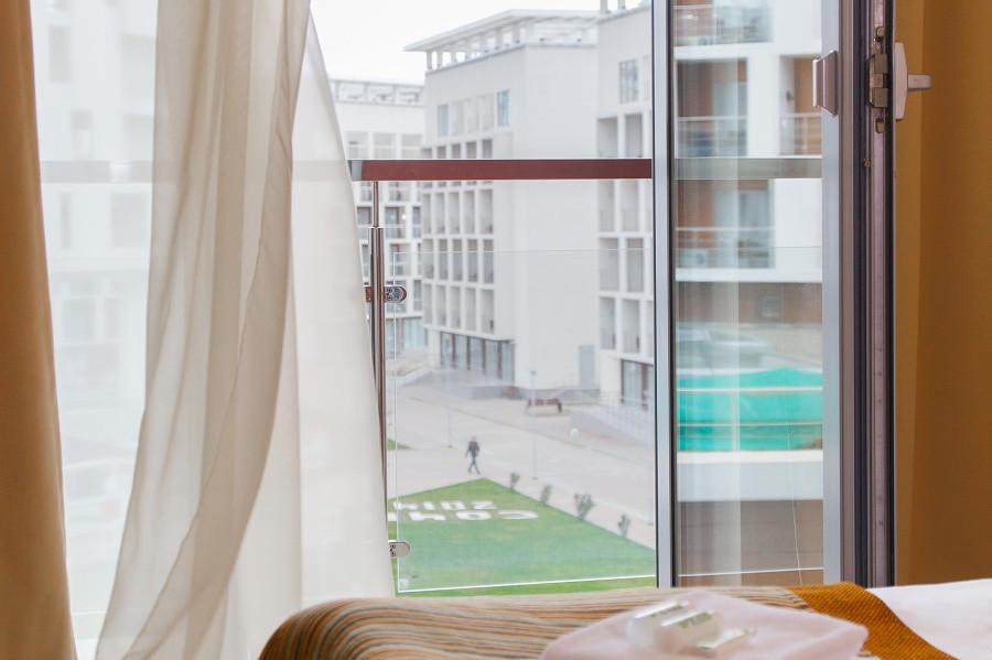 Балкон Семейного двухкомнатного номера отеля Bridge Family, Сочи, Имеретинский курорт