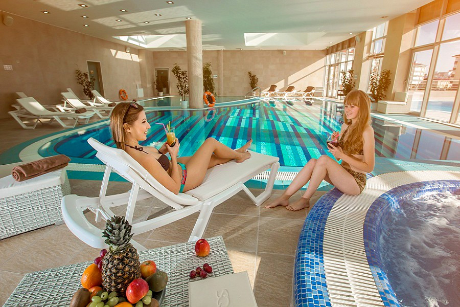 Wellness Club отеля Bridge Resort, Сочи, Имеретинский курорт