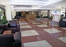 Холл пансионата Бургас