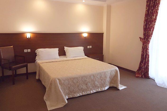 Стандартный номер в корпусе А отеля Царская аллея, Новый Афон, Абхазия