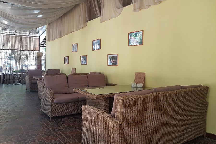 Столовая отеля Царская аллея, Новый Афон, Абхазия