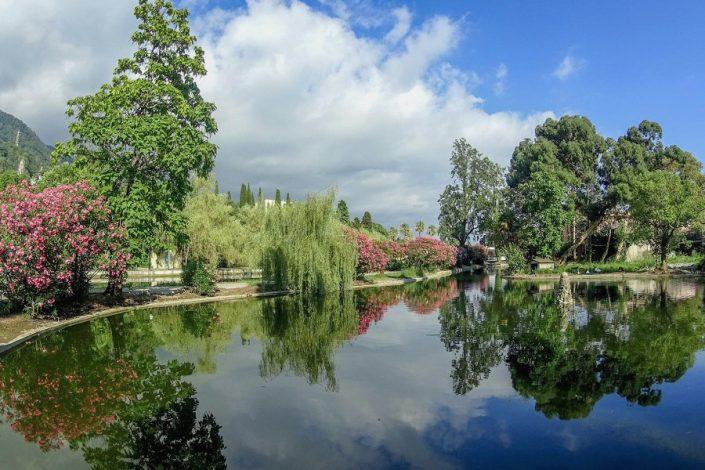 Приморский парк в Новом Афоне