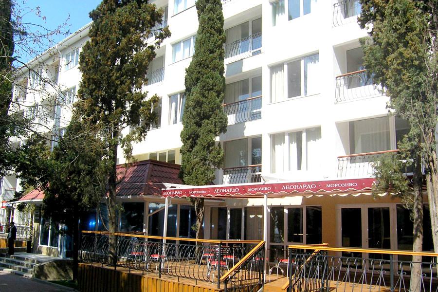 Гостиница Чайка, Крым, Ялта, Гурзуф