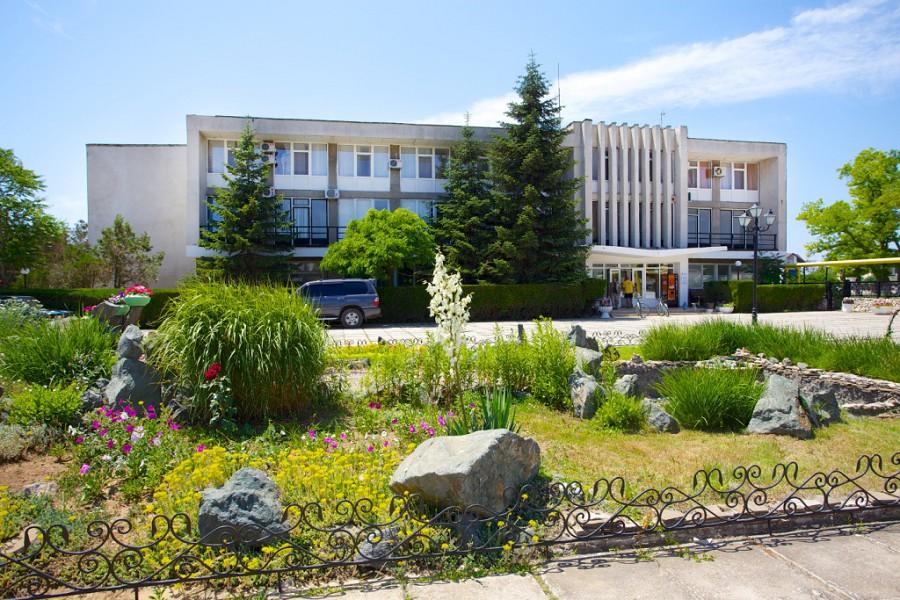 Санаторий Чайка, Заозерное, Евпатория, Крым