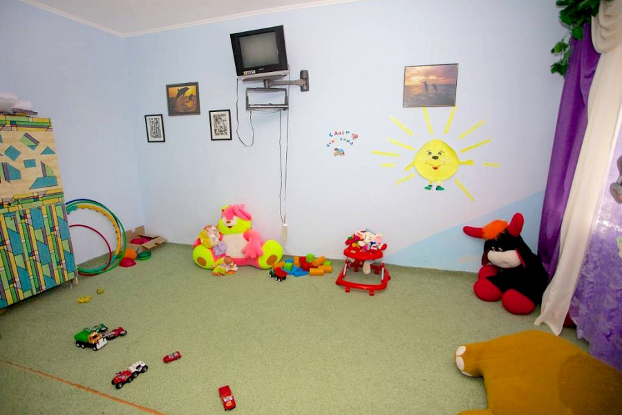 Детская комната санатория Чайка