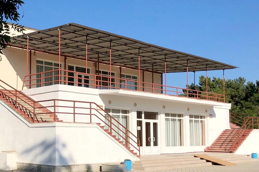 Столовая санатория Чайка
