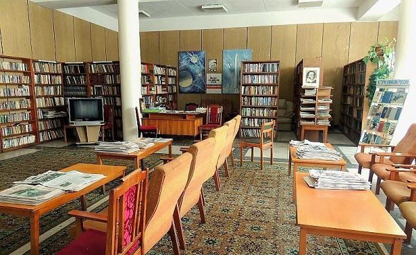 Библиотека санатория Чемитоквадже МО РФ, Сочи