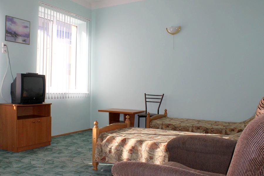Стандарт двухместный отеля Черноморочка
