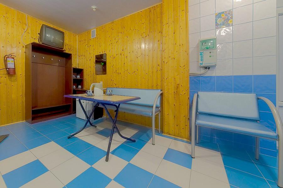 Комната отдыха при сауне гостиницы Черноморская