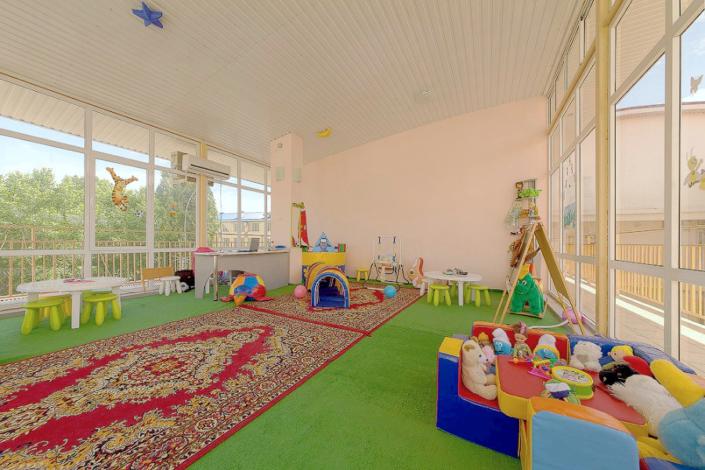 Детская комната гостиницы Черноморская