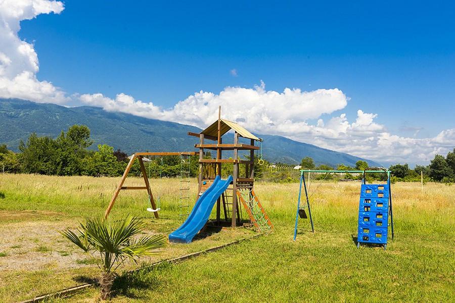 Детская игровая площадка комплекса Чистая вода