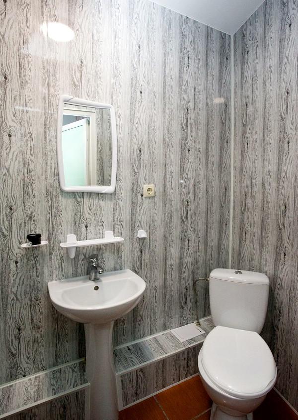 Туалетная комната Стандартного номера в пансионате Цитрус