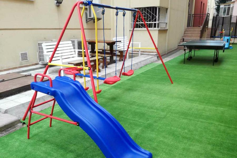 Детская площадка пансионата Цитрус
