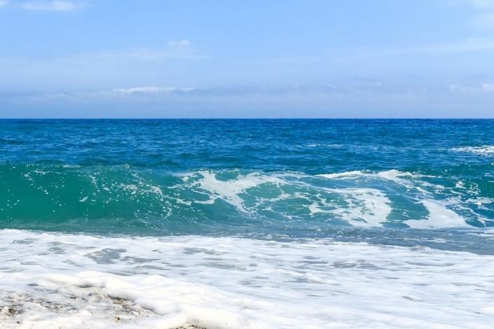 Черное море в Алуште
