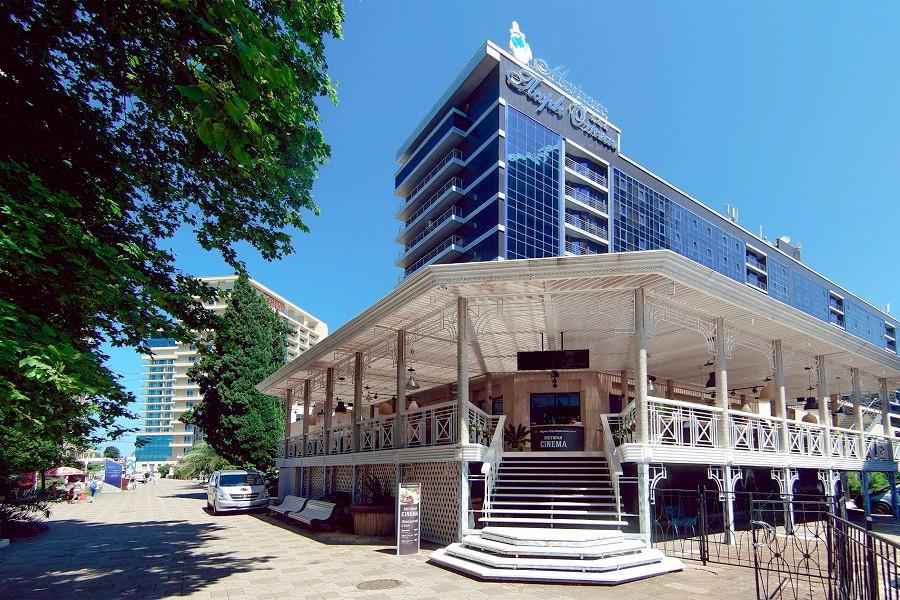 Ресторан Синема в City Park Hotel