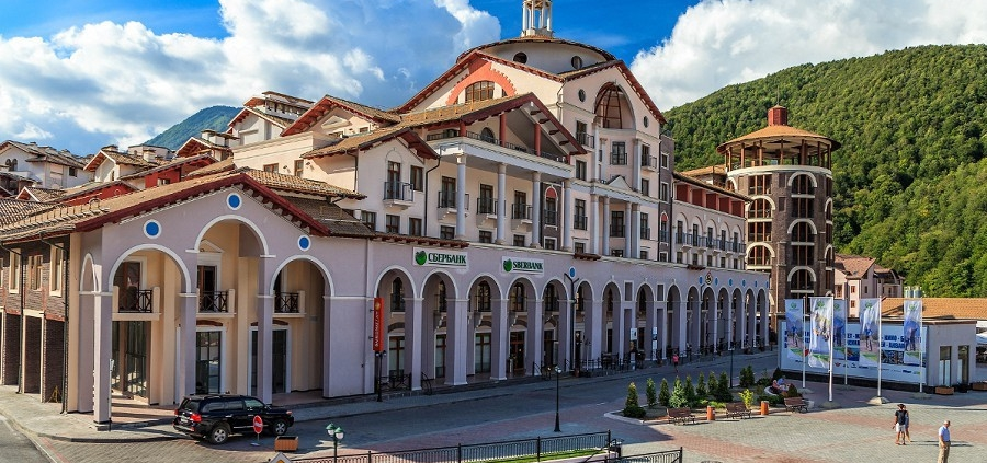 Courtyard by Marriott Sochi Krasnaya Polyana, СТК Горки Город