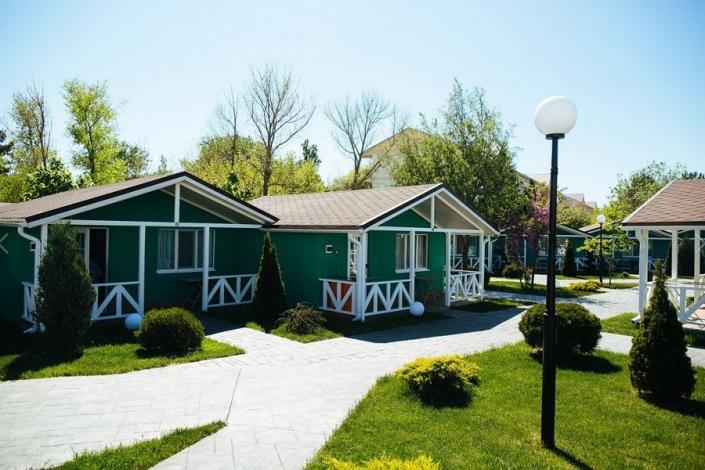 Коттеджи отеля Дача Del Sol, Анапа, Витязево