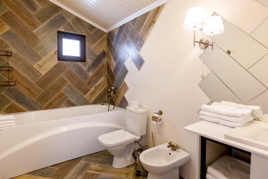 Туалетная комната номера Сюит отеля Дача Del Sol