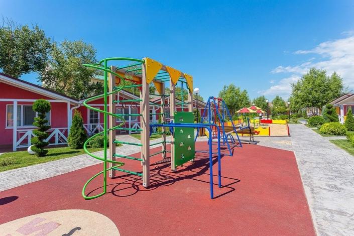 Детская игровая площадка отеля Дача Del Sol