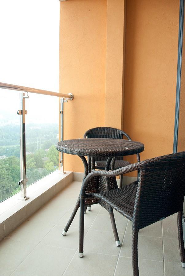 Балкон номера в оздоровительном комплексе Дагомыс