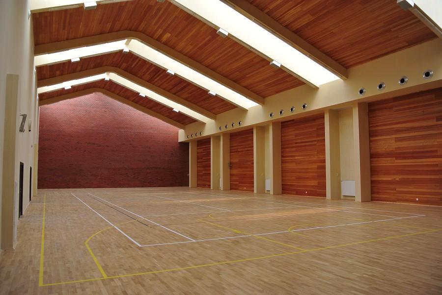Спортивный зал оздоровительного комплекса Дагомыс