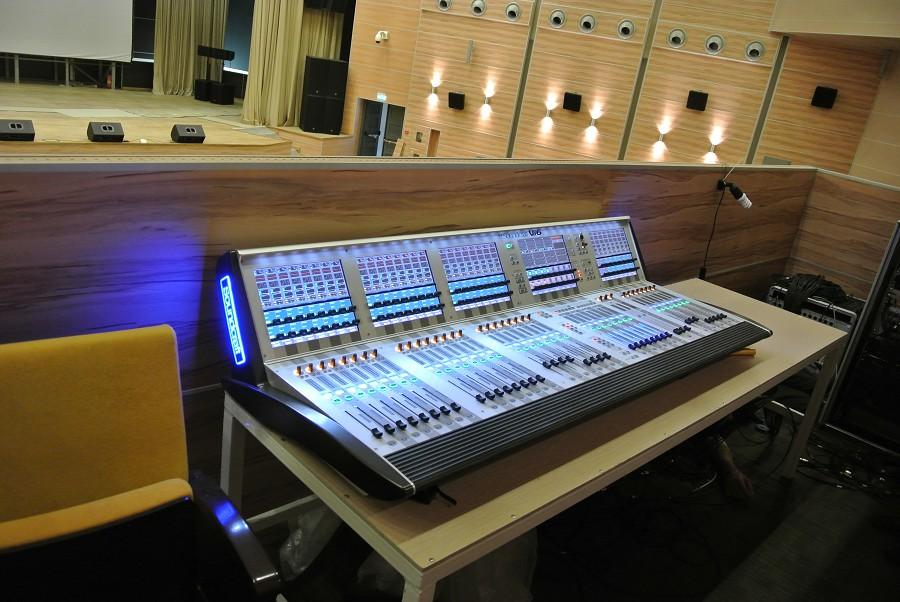 Оборудование киноконцертного зала оздоровительного комплекса Дагомыс