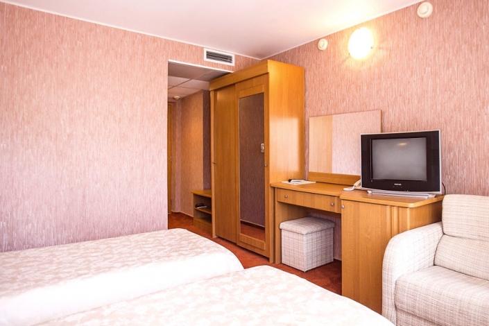 Стандартный двухместный номер отеля Де ла Мапа