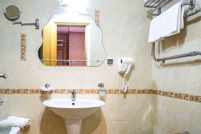Туалетная комната Стандартного номера отеля Де ла Мапа