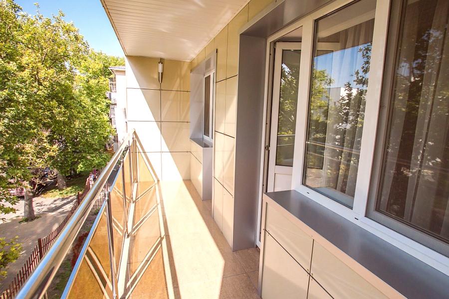 Балкон номера Сюит отеля Де ла Мапа