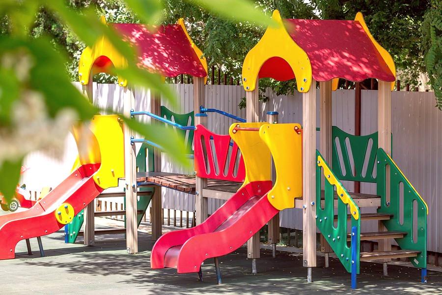 Детская игровая площадка отеля Де ла Мапа