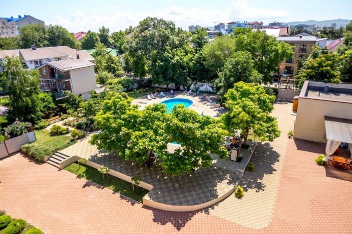 Вид на территорию отеля Де ла Мапа