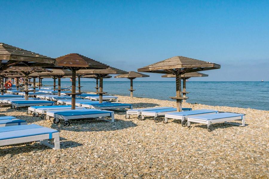 Пляж комплекса Золотая Бухта, Анапа