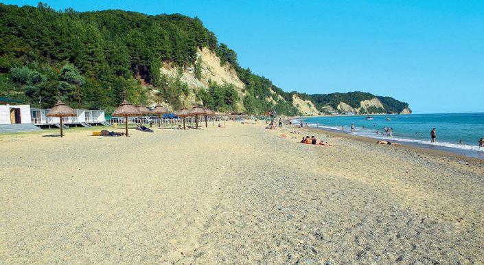Пляж отеля Del Mar