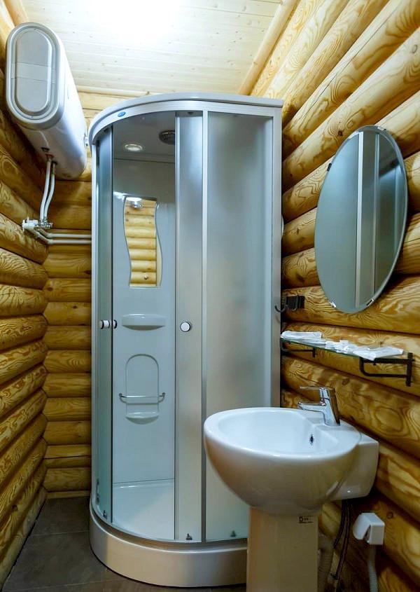 Туалетная комната Стандартного номера отеля Del Mare, Анапа