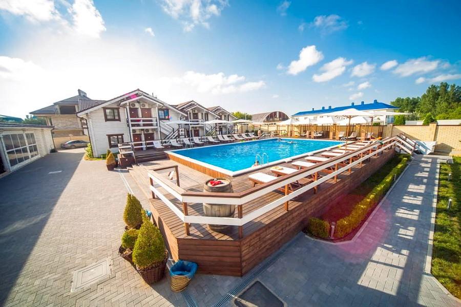 Бассейн отеля Del Mare, Анапа